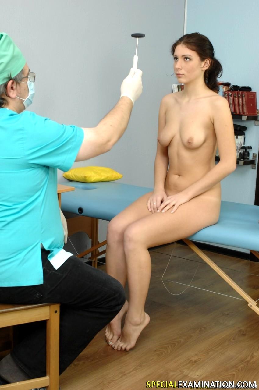 Medical exam nude standard