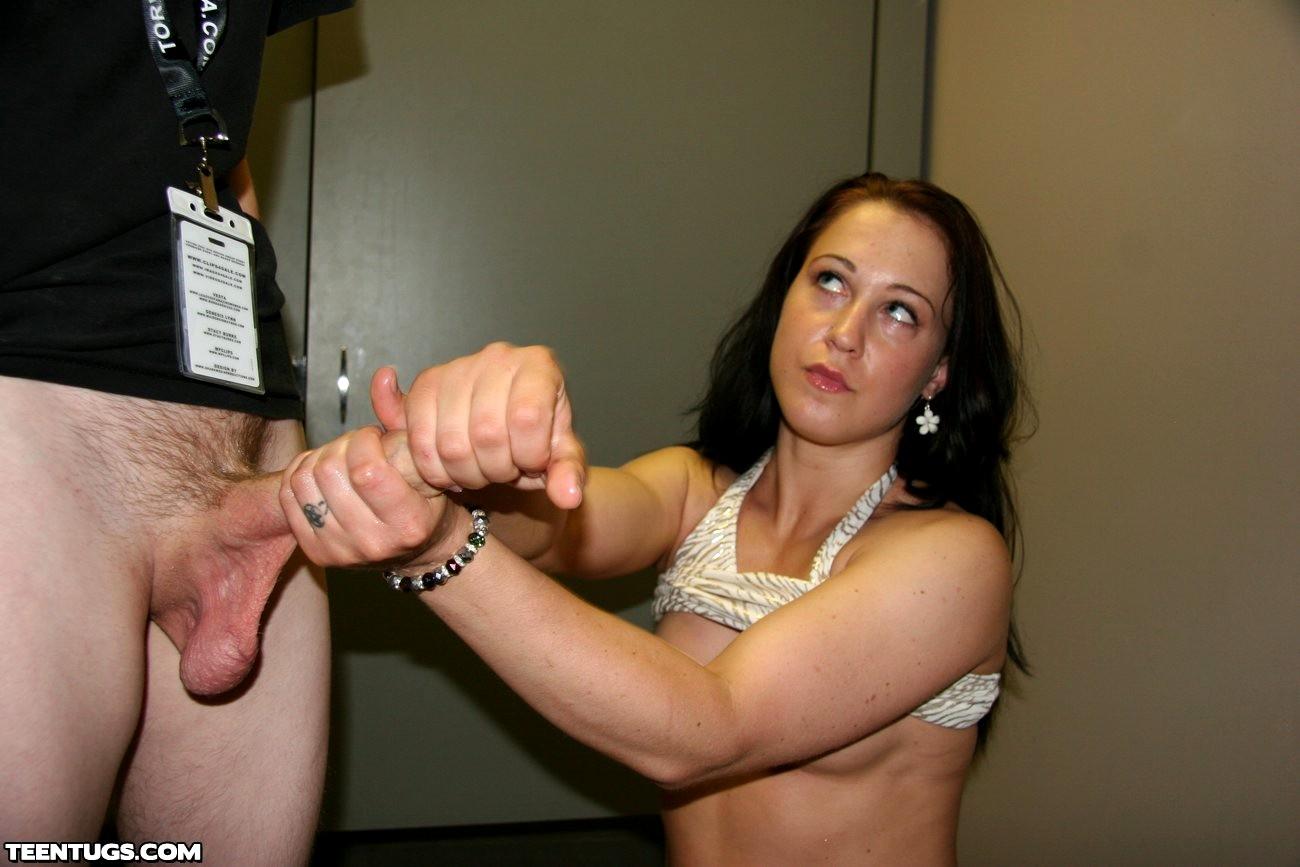 Hand Held White Porn