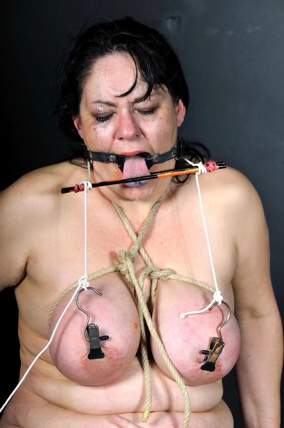 Bbw tit torture