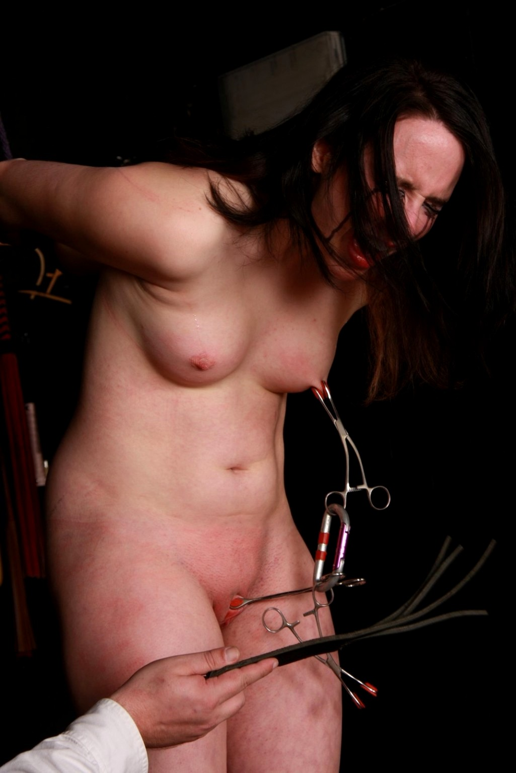 Naked girls breast whipping — pic 6