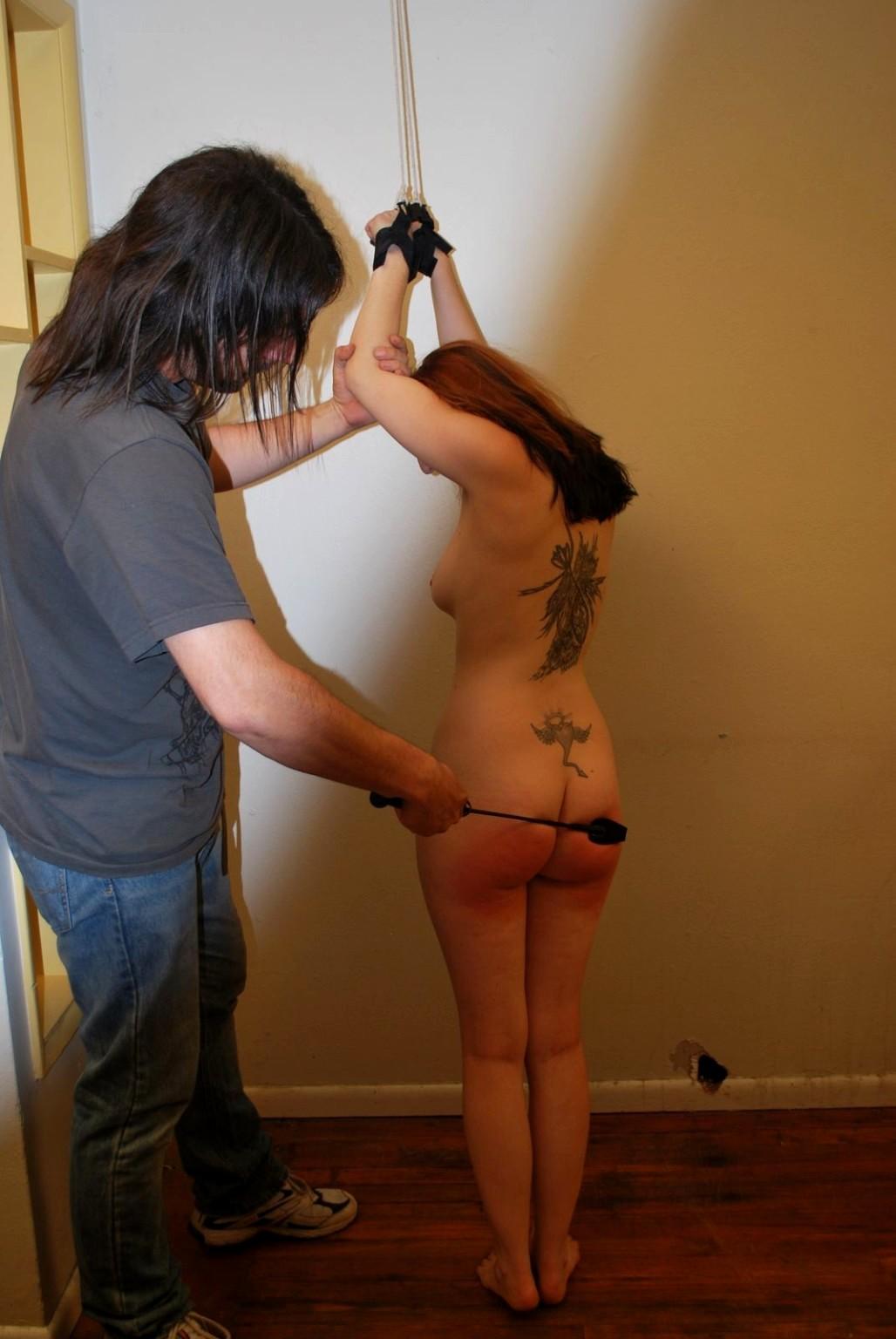 Whipping bondage amateur — photo 3