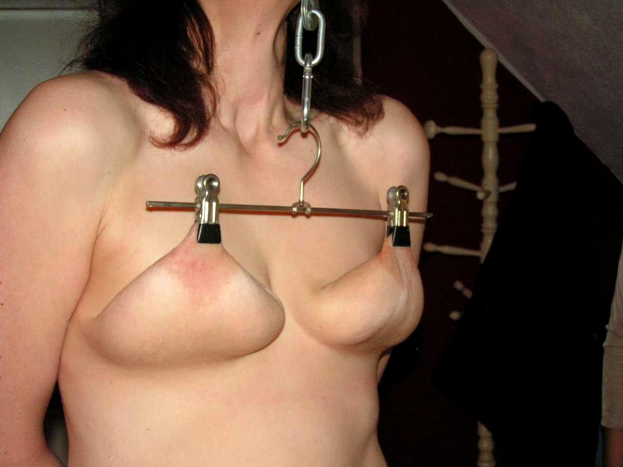 Nipple torture porn pics