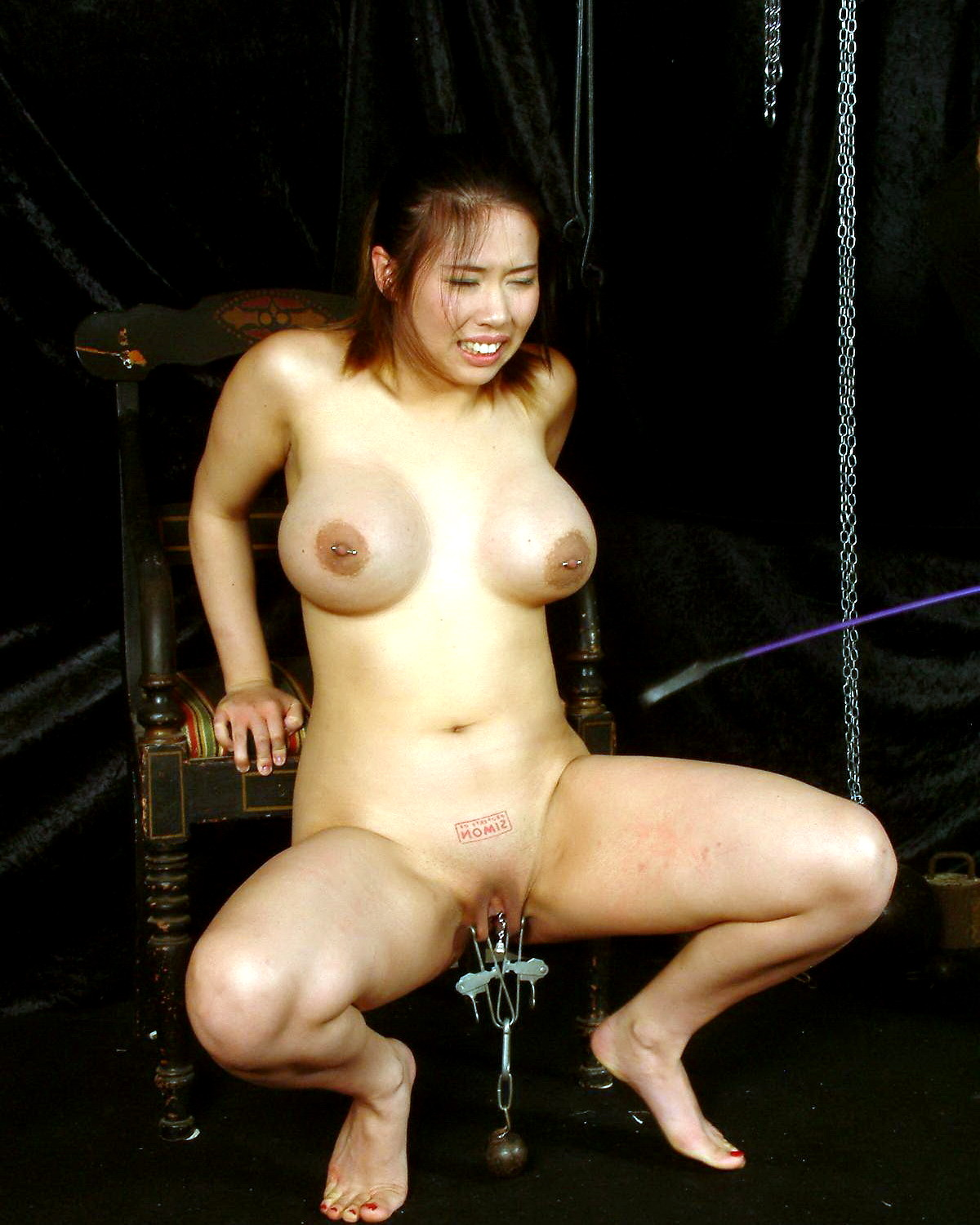 Busty Asian Bdsm