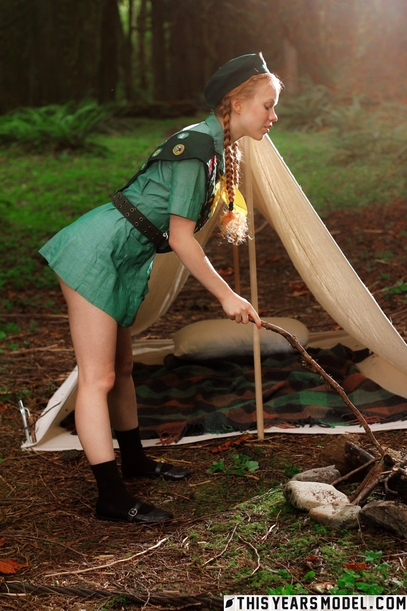 Busty girl scouts — photo 4