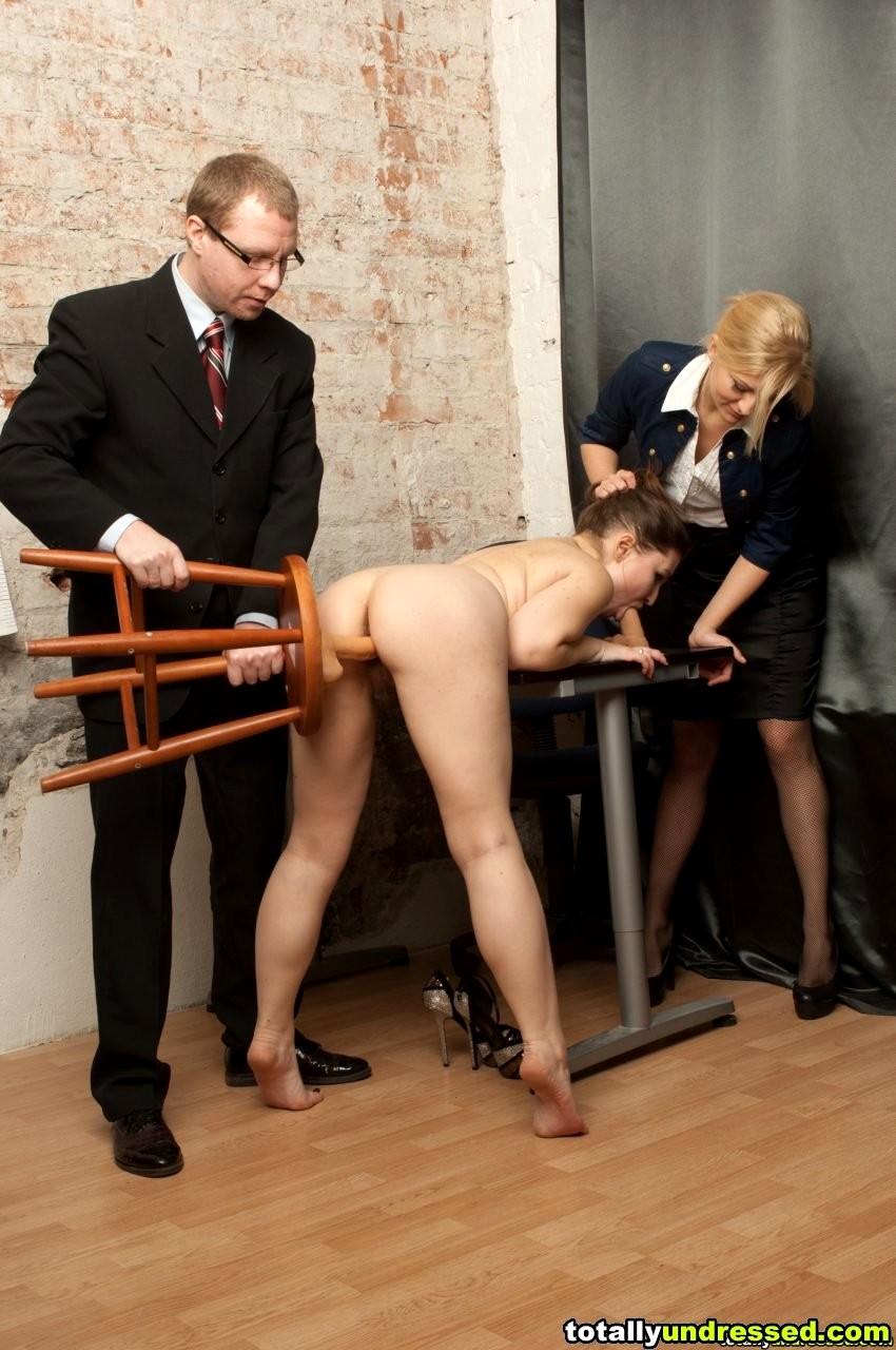 Эротическое устройство на работу жестко отымели большая