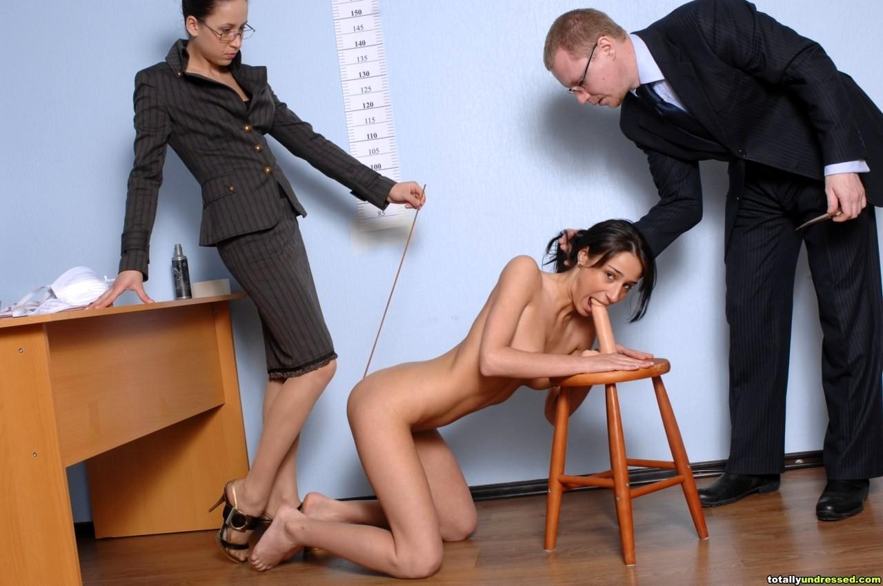Секс наказание для плохой студентки 5
