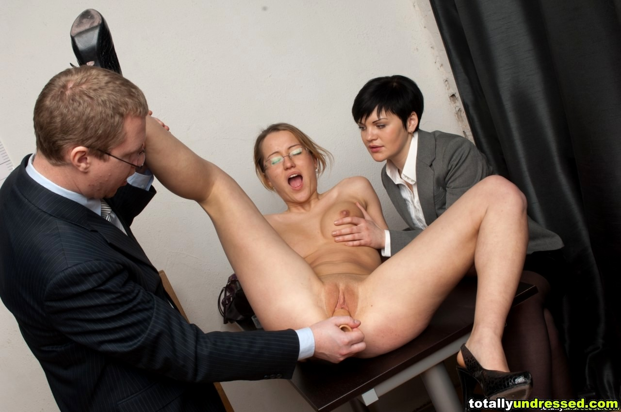 Hottest secretary interview with great fucking starring luna star