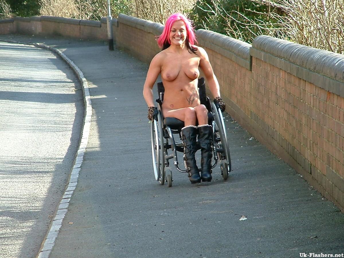 Naked Girl Handicapped