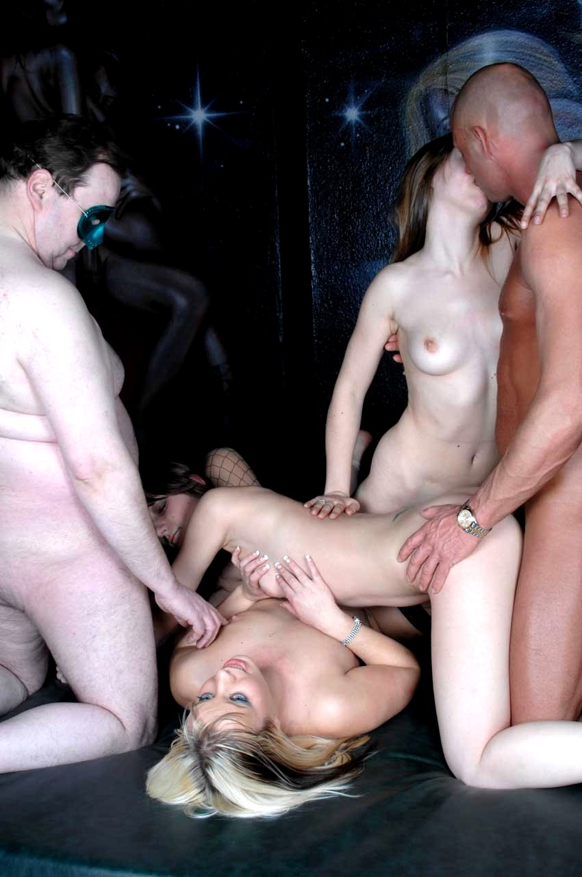 Bondage sex party