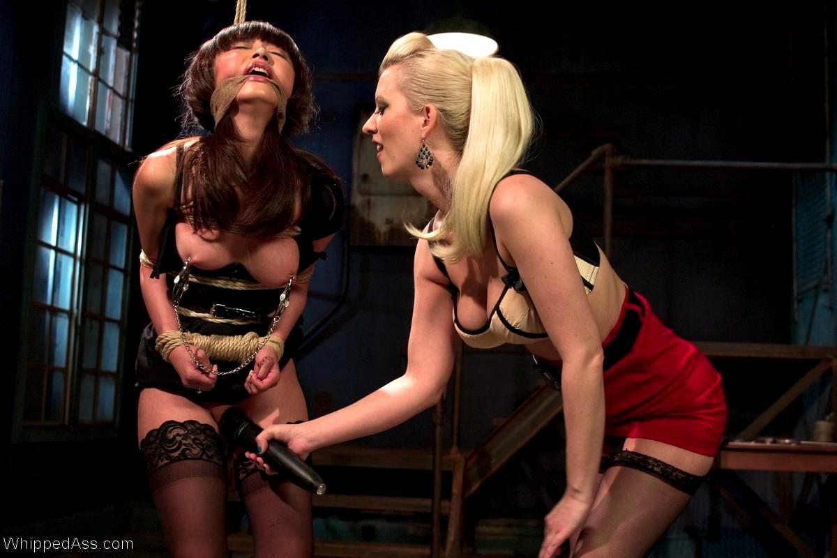 Whippedass krissy lynn jessie cox lovely lesbian spanking in xxx porn pics
